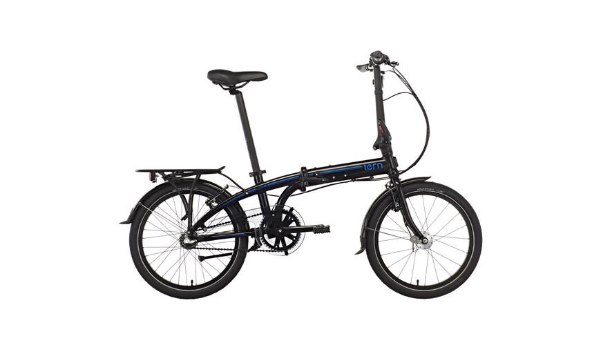 "tern Link C3i Hopfällbar cykel 20"" svart"